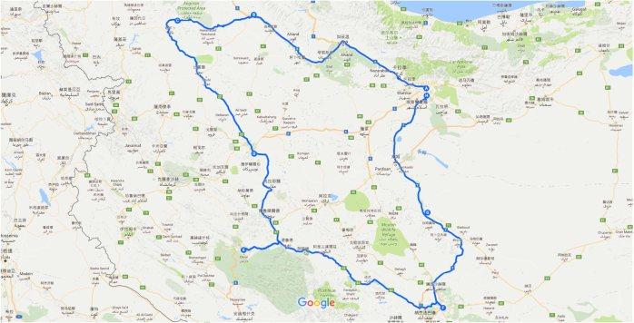路線圖-2017伊朗